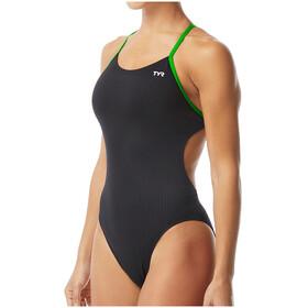 TYR Hexa Cutoutfit Swimsuit Women, nero